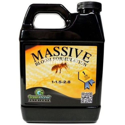 Massive Bloom Formulation 1L Green Planet Nutrients - Pacific Coast Hydroponics Los Angeles