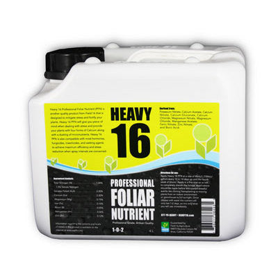 Foliar Spray Gallon Heavy 16 - Pacific Coast Hydroponics Los Angeles