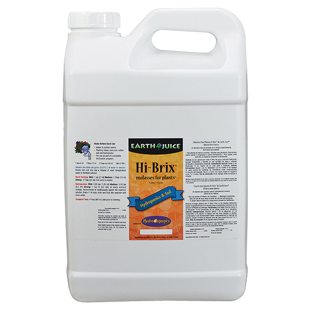 Hi-Brix MFP 2.5 Gallon Earth Juice - Pacific Coast Hydroponics Los Angeles
