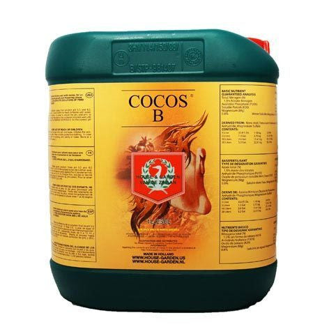 Cocos B 5 Liter House & Garden - Pacific Coast Hydroponics Los Angeles