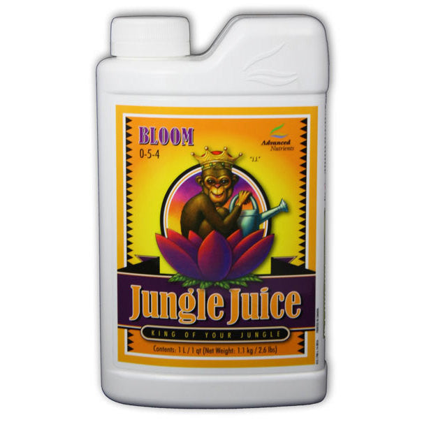 Jungle Juice Bloom Liter Advanced Nutrients - Pacific Coast Hydroponics Los Angeles