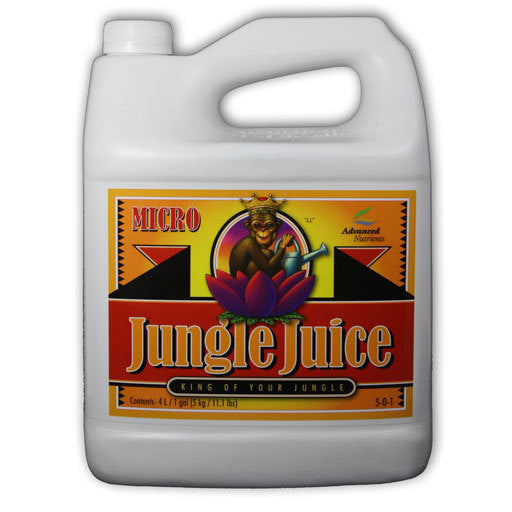Jungle Juice Micro 4 Liter Advanced Nutrients - Pacific Coast Hydroponics Los Angeles