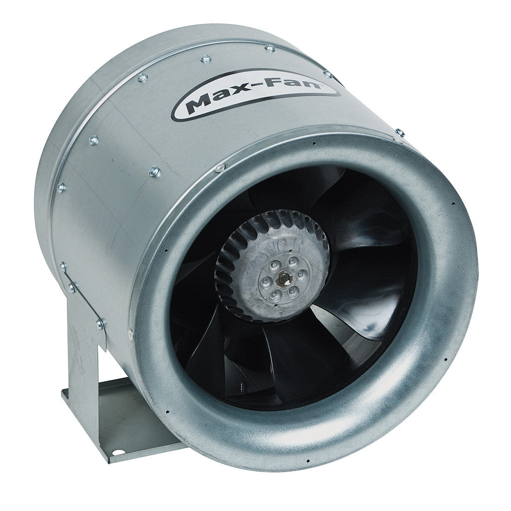 Max Fan 10in 1019 CFM 1ea/13lb Can Fans & Filters - Pacific Coast Hydroponics Los Angeles