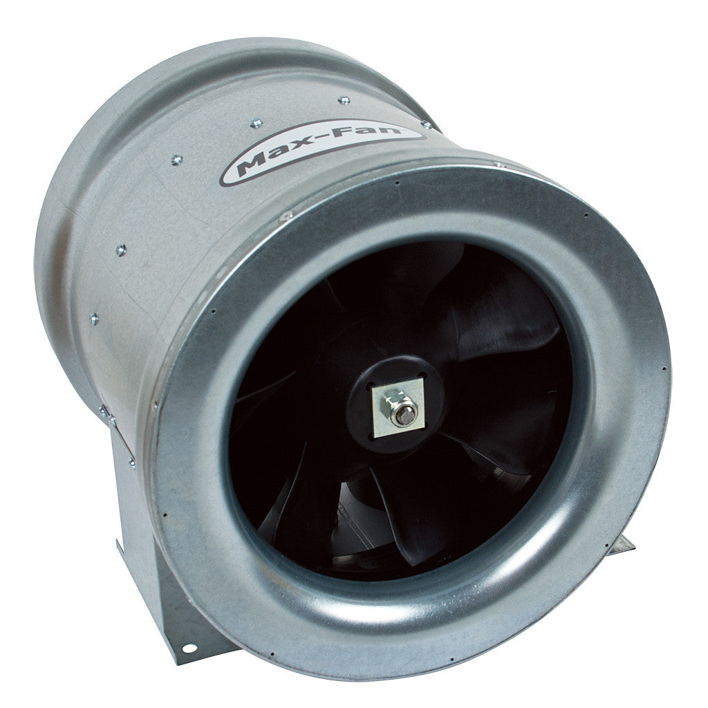 Max Fan12in 1708 CFM 1ea/24lb Can Fans & Filters - Pacific Coast Hydroponics Los Angeles