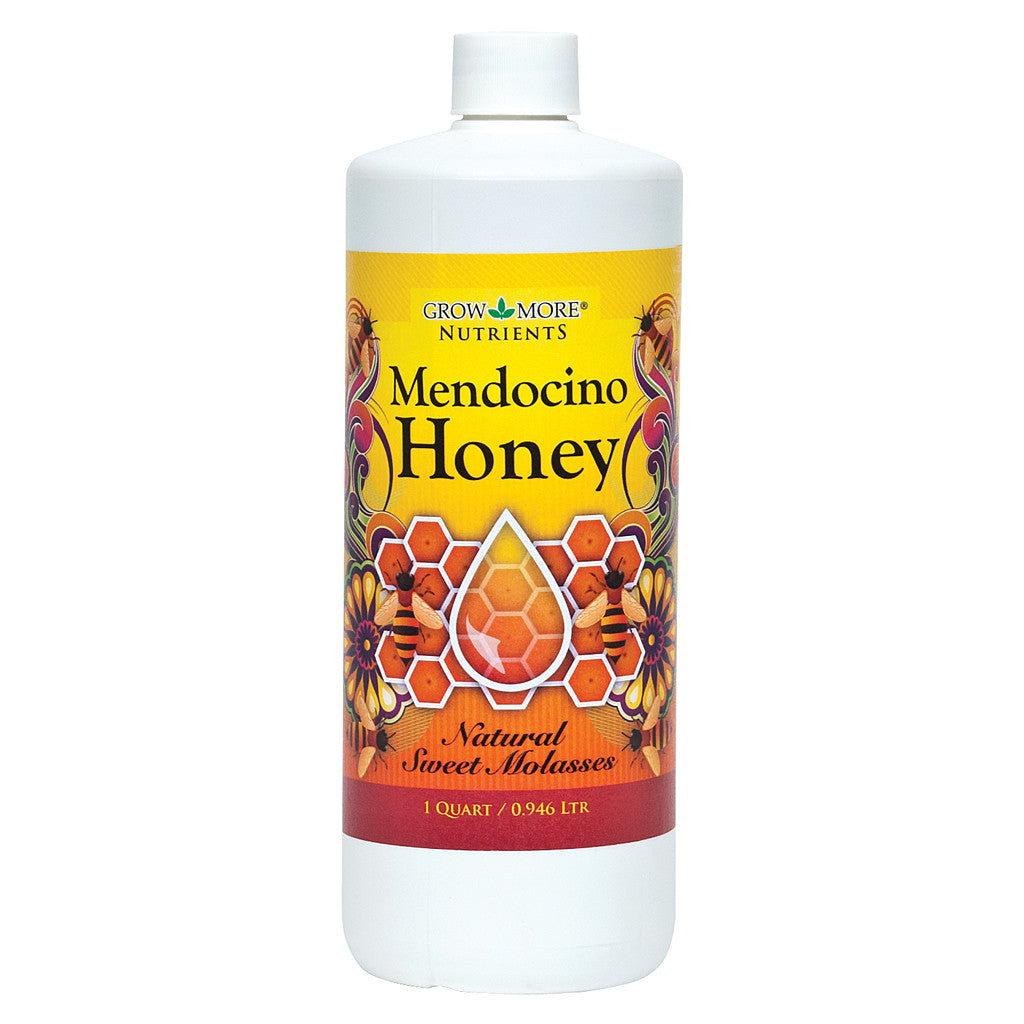Mendocino Honey Quart Grow More - Pacific Coast Hydroponics Los Angeles