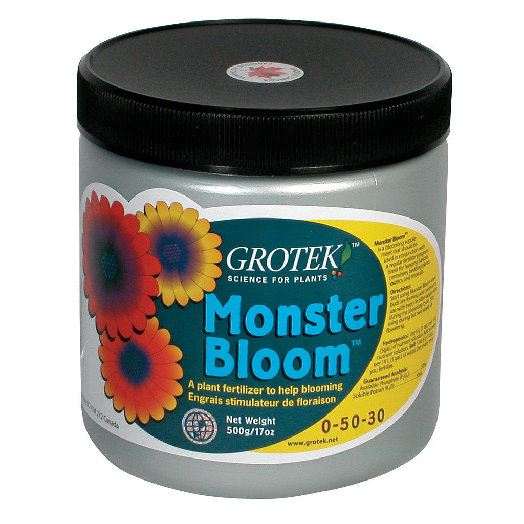 Monster Bloom  500 gram Grotek - Pacific Coast Hydroponics Los Angeles