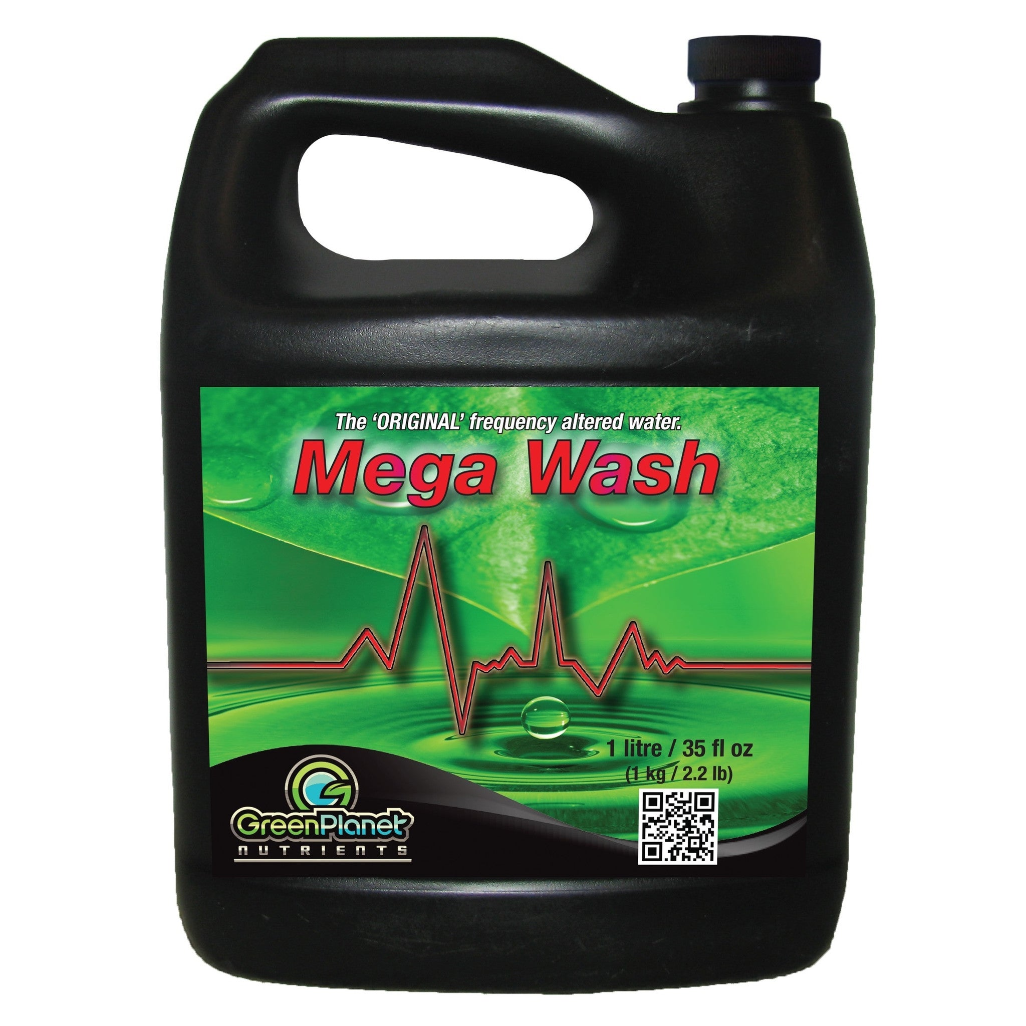 Mega Wash 1L Green Planet Frequency Wash Green Planet - Pacific Coast Hydroponics Los Angeles