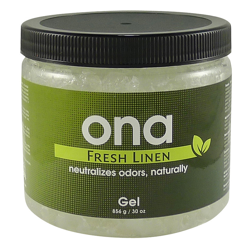 Ona Gel Fresh Linen 1 Quart ONA - Pacific Coast Hydroponics Los Angeles