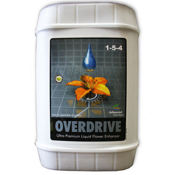 Overdrive 23 Liter Advanced Nutrients - Pacific Coast Hydroponics Los Angeles