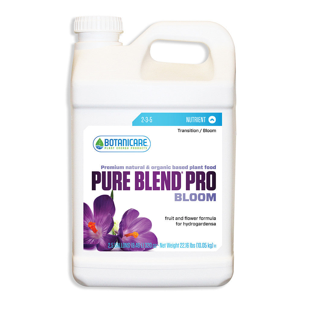 Pure Blend Pro Bloom 2.5 Gallon Botanicare - Pacific Coast Hydroponics Los Angeles