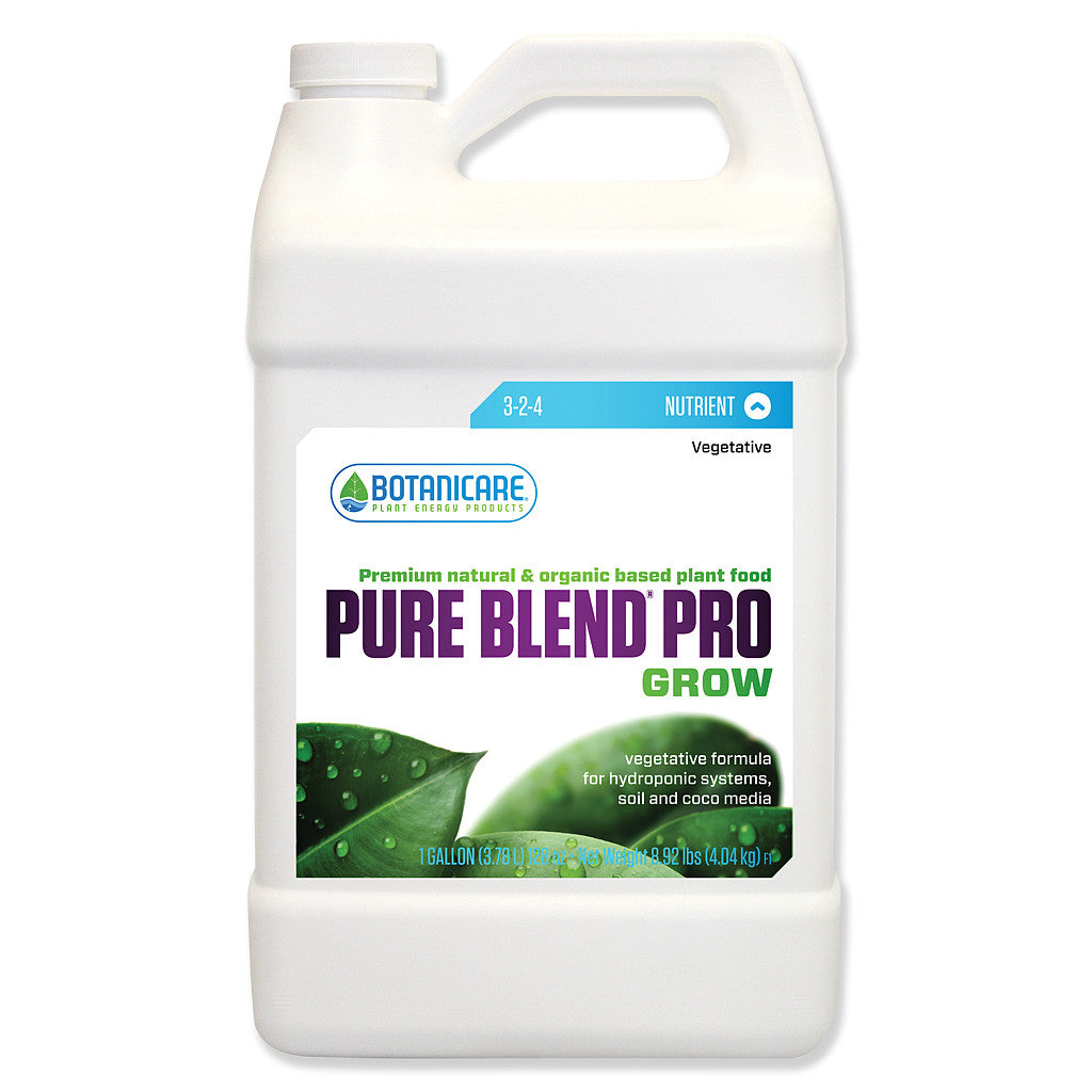 Pure Blend Pro Grow 1 Gallon Botanicare - Pacific Coast Hydroponics Los Angeles