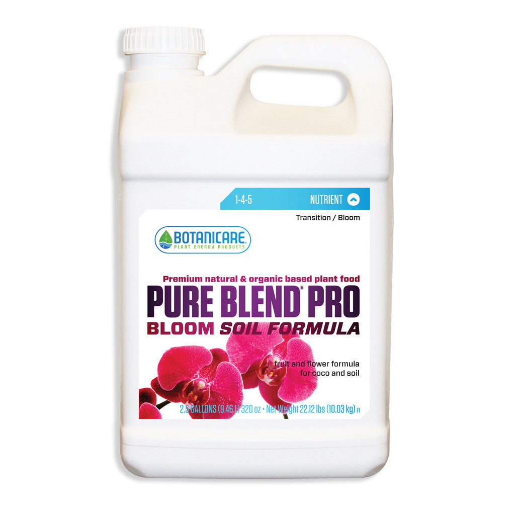 Pure Blend Pro Soil 2.5 Gallon Botanicare - Pacific Coast Hydroponics Los Angeles
