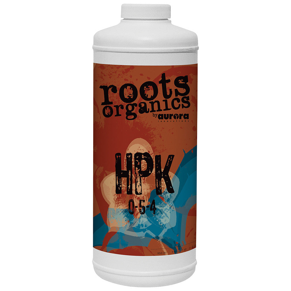 Roots Organics HPK 1 quart Roots Organics - Pacific Coast Hydroponics Los Angeles