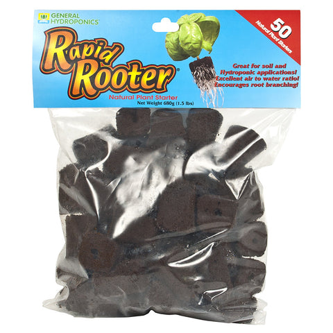 Rapid Rooter Plugs 50 Count Bag