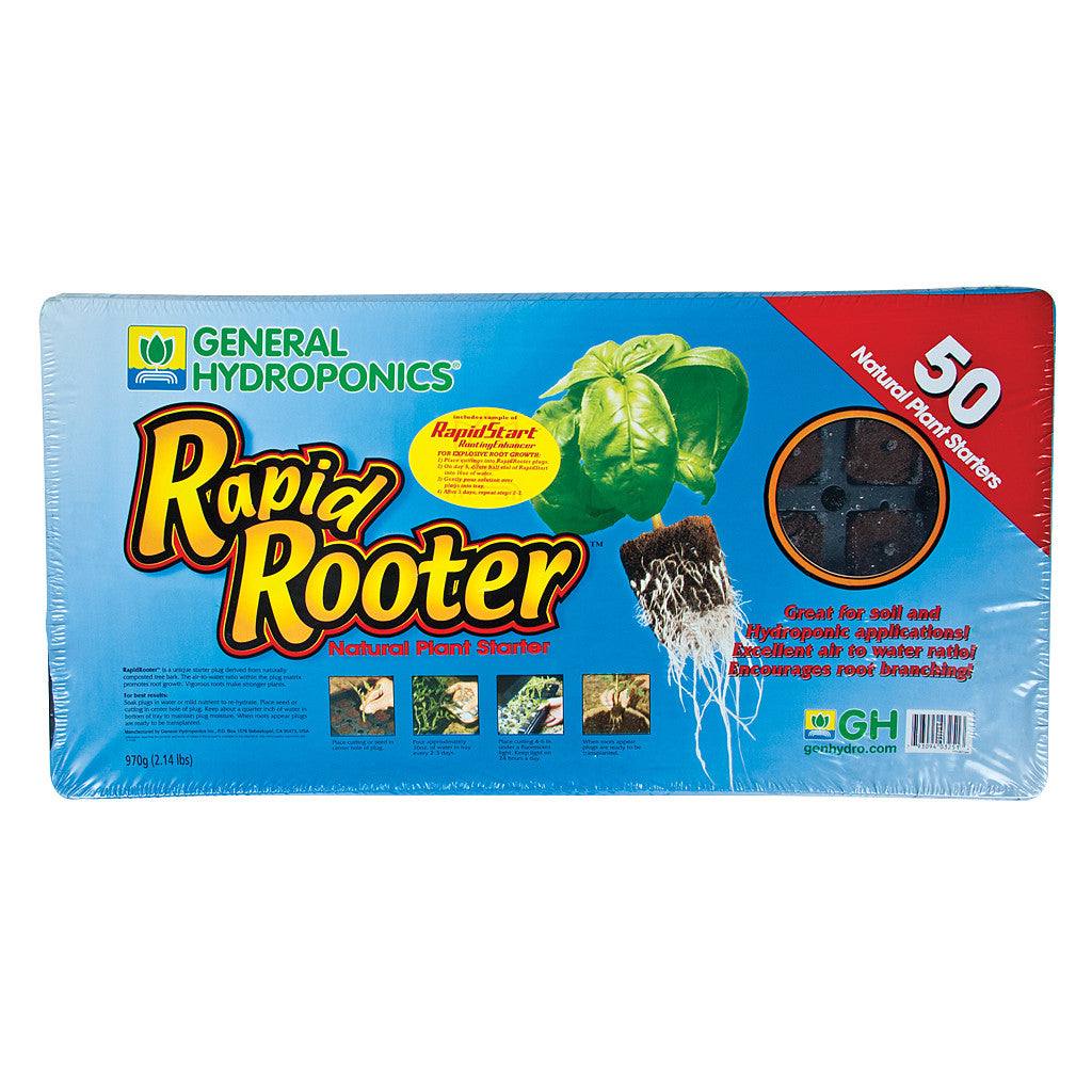 Rapid Rooter 50 cell tray General Hydroponics - Pacific Coast Hydroponics Los Angeles