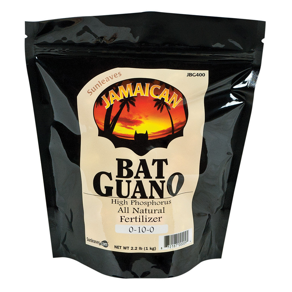Jamaican Bat Guano 2 lb Sunleaves - Pacific Coast Hydroponics Los Angeles