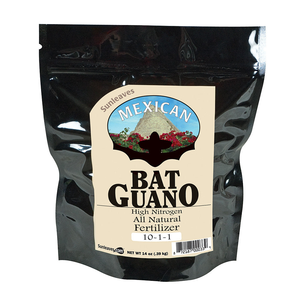 Mexican Bat Guano Sunleaves - Pacific Coast Hydroponics Los Angeles