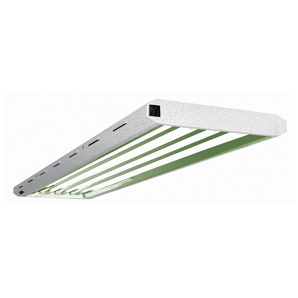 Pioneer 4 foot x 4 tube T5 Fluorescent Fixture Grow Lamps (6500 kelvin) Pioneer - Pacific Coast Hydroponics Los Angeles