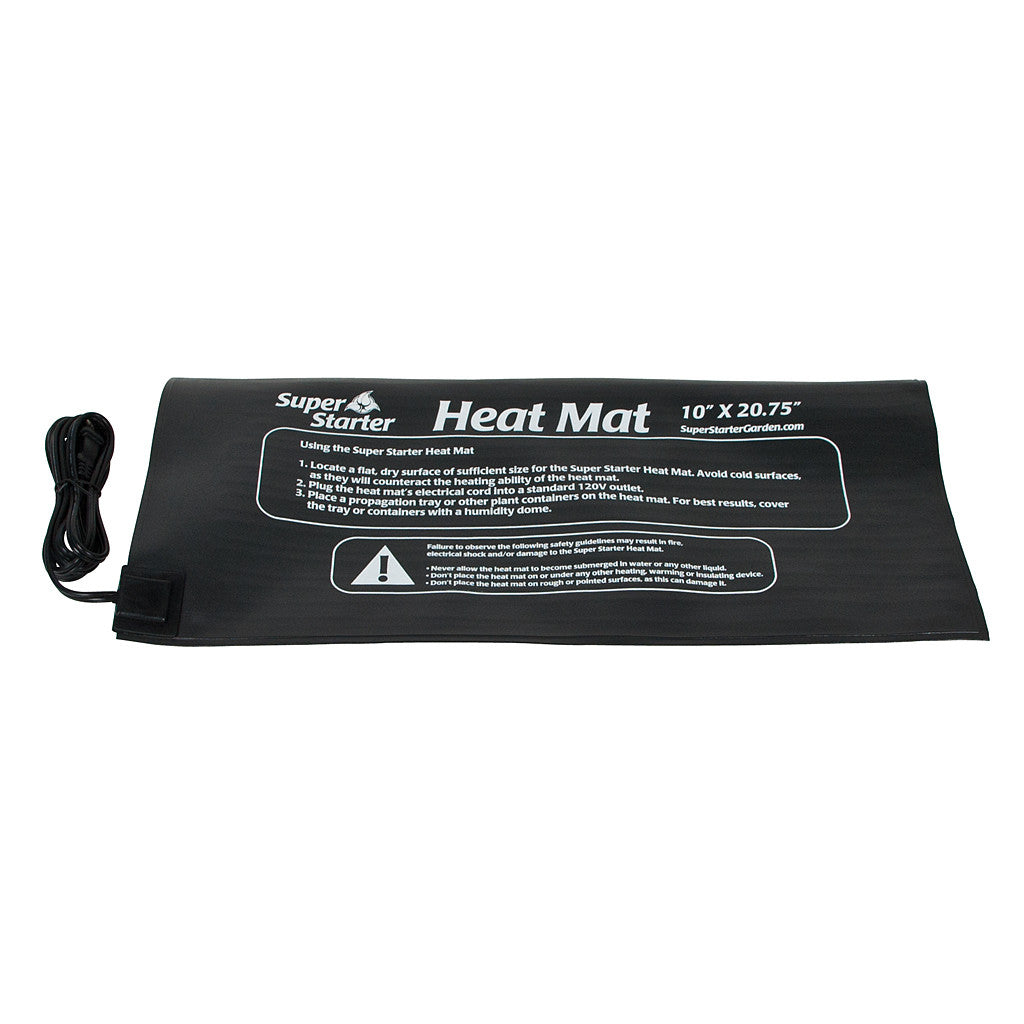 7 Watt Super Starter Heat Mat, 10 x 20.75 Inch Super Starter - Pacific Coast Hydroponics Los Angeles