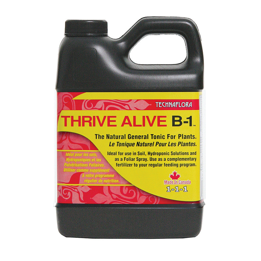 Thrive Alive B1 Red, 500ml Technaflora - Pacific Coast Hydroponics Los Angeles