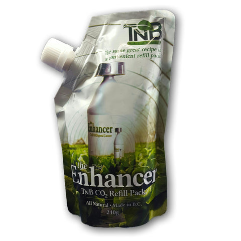 CO2 ENHANCER REFILL FRONT TNB - Pacific Coast Hydroponics Los Angeles