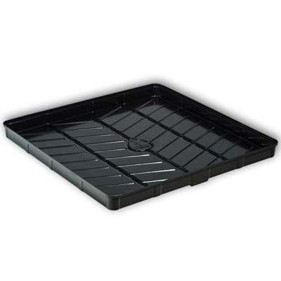 4 x 4 Foot Low Tide Black Tray