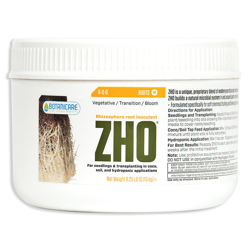 ZHO Root Inoculant 1/4 pound Botanicare - Pacific Coast Hydroponics Los Angeles