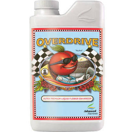 Overdrive 1 Liter Advanced Nutrients - Pacific Coast Hydroponics Los Angeles