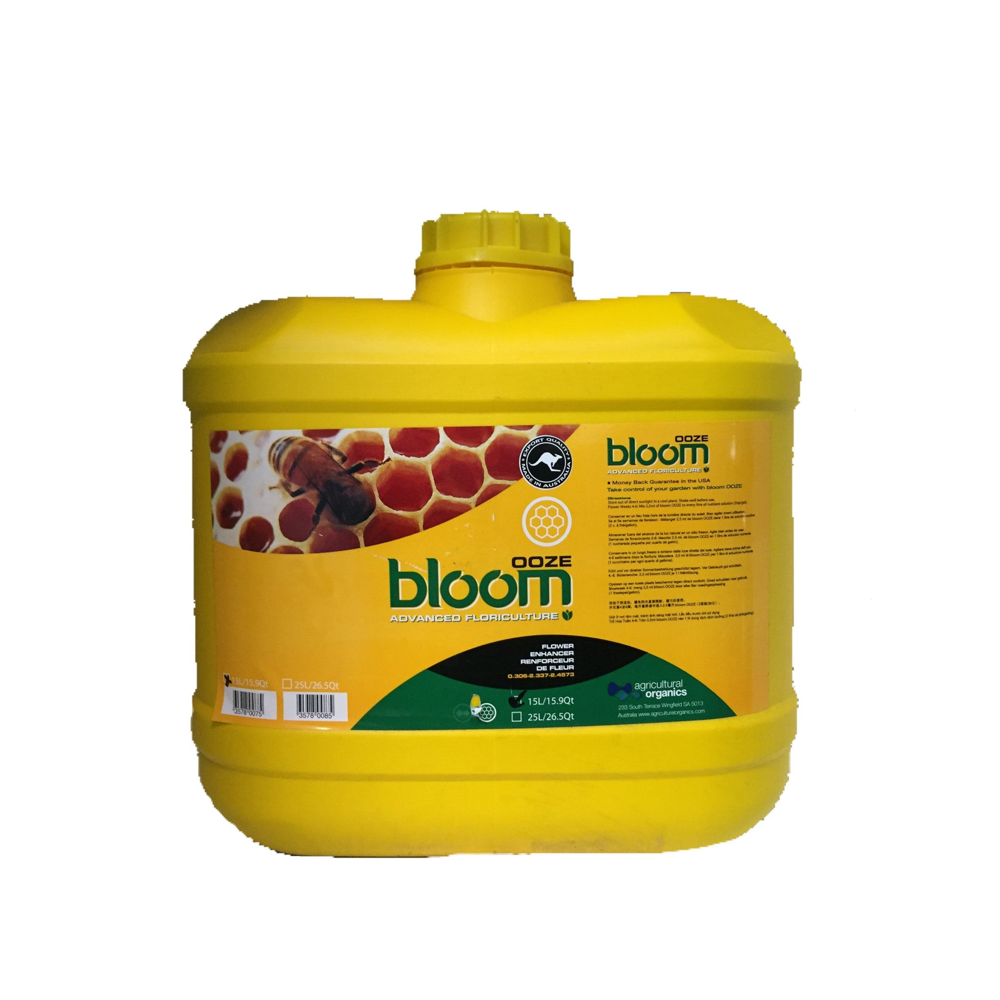 Bloom Advanced Floriculture 15 Liter Bloom Advanced Floriculture - Pacific Coast Hydroponics Los Angeles