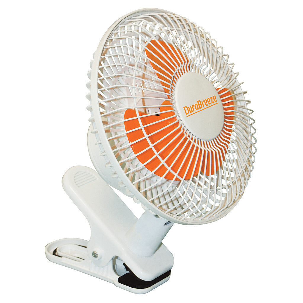 DuraBreeze 6 Inch Clip Fan DuraBreeze - Pacific Coast Hydroponics Los Angeles