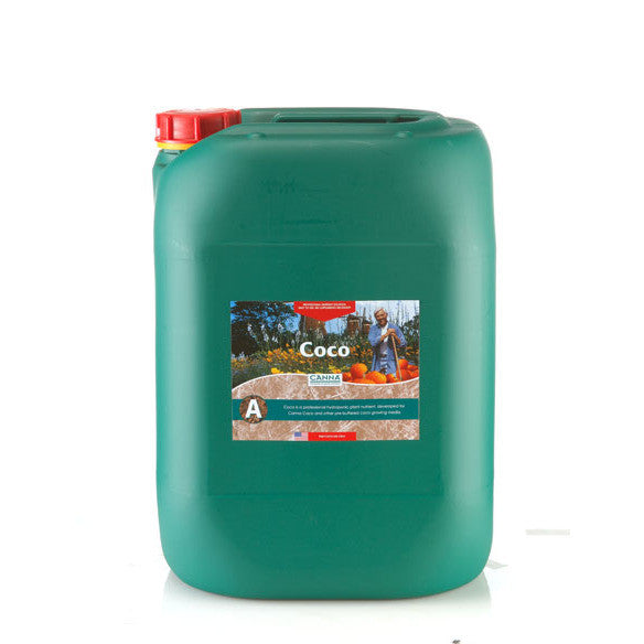 Coco A 20 Liter Canna - Pacific Coast Hydroponics Los Angeles