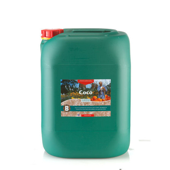 Coco B 20 Liter Canna - Pacific Coast Hydroponics Los Angeles