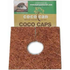 Coco Caps 4 inch 10 Pack Grodan - Pacific Coast Hydroponics Los Angeles