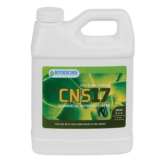 CNS 17 Coco & Soil Grow Quart Botanicare - Pacific Coast Hydroponics Los Angeles