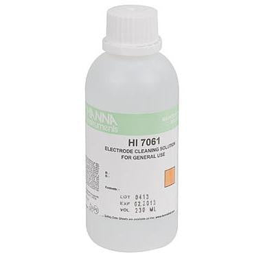 Electrode Cleaning Solution 230 ml Hanna - Pacific Coast Hydroponics Los Angeles