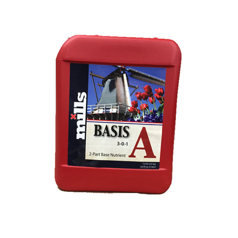Mills Nutrients Basis A 5L Base Nutrient