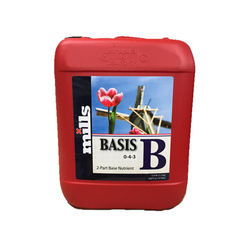 Mills Nutrients Basis B 10L Base Nutrient