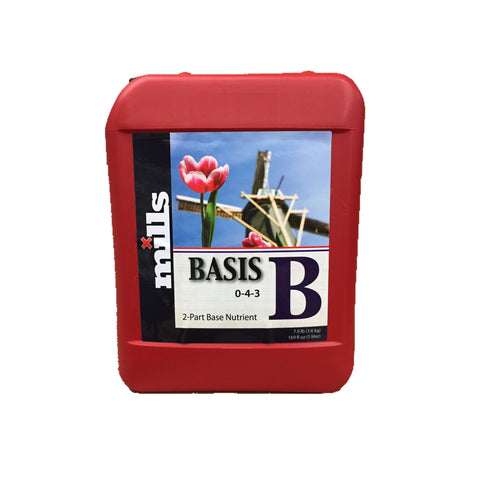 Mills Nutrients Basis B 5L Base Nutrient