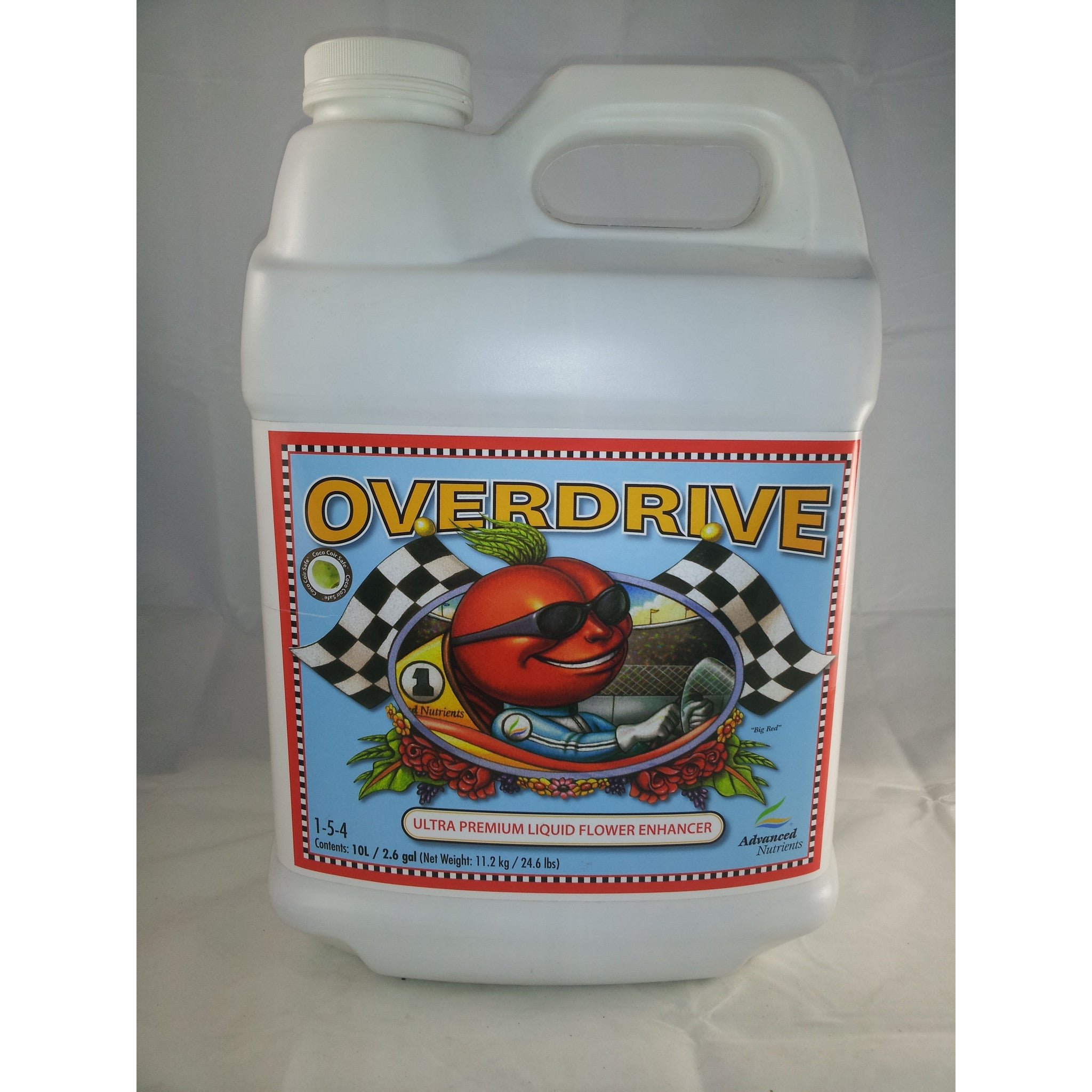 Overdrive 10 Liter Advanced Nutrients - Pacific Coast Hydroponics Los Angeles