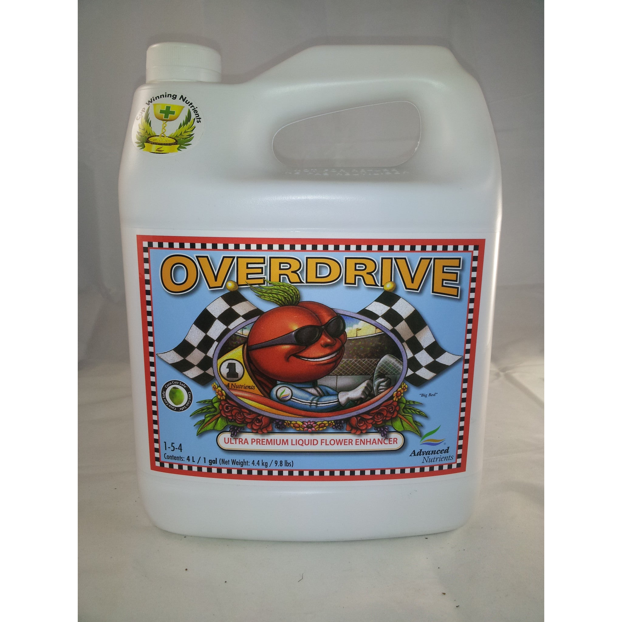 Overdrive 4 Liter Advanced Nutrients - Pacific Coast Hydroponics Los Angeles