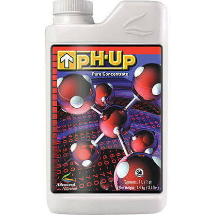 pH Up Liter Advanced Nutrients - Pacific Coast Hydroponics Los Angeles
