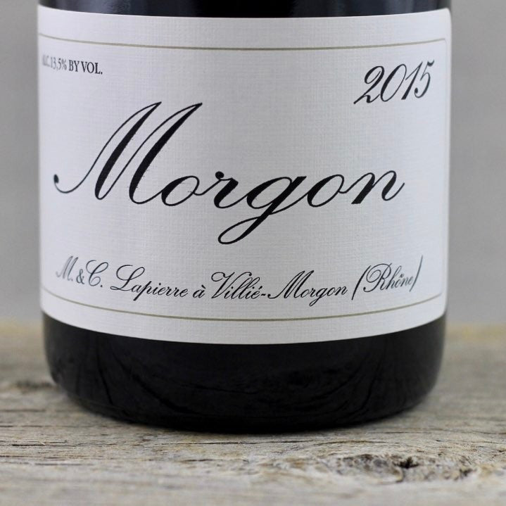 MMXV: Lapierre Morgon at its Boldest