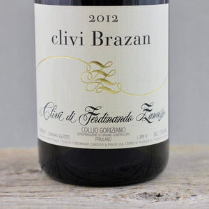 Picture Perfect Collio: 2012 I Clivi Brazan Friulano