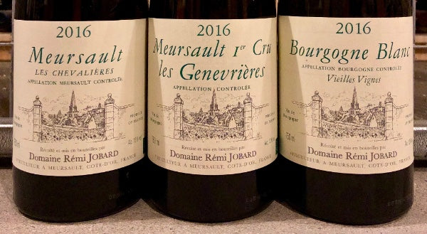Meursault Trifecta: The Brilliant 2016's of Rémi Jobard
