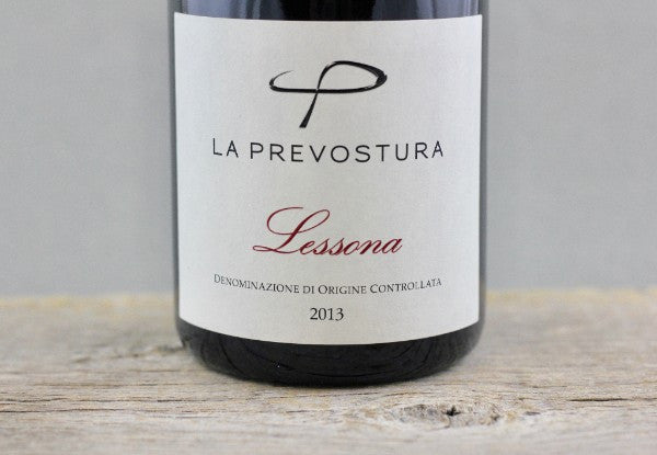 Alto Piemonte at its Brightest: 2013 La Prevostura Lessona