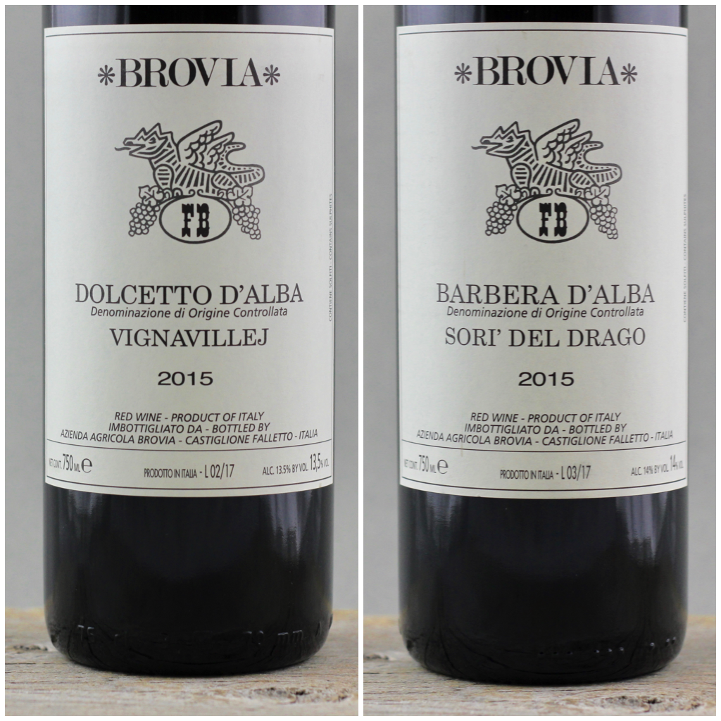 Bring on the Heat: 2015 Brovia Dolcetto and Barbera d'Alba
