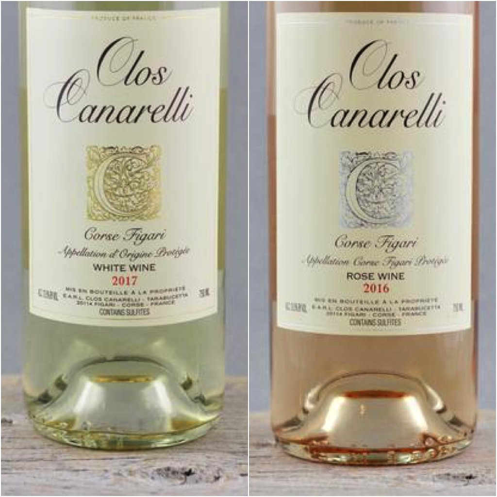 All Eyes on Southern Corse: Clos Canarelli Figari Blanc & Rosé