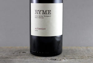 Old World Inspiration, New World Adventure: The Wines of Ryme