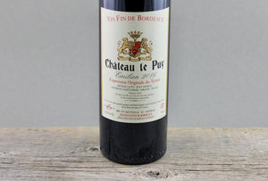 Bordeaux First in Class:  2016 Chateau Le Puy