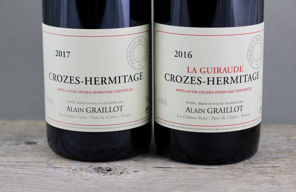 There Will be Stems:  Alain Graillot's Definitive Crozes Hermitage